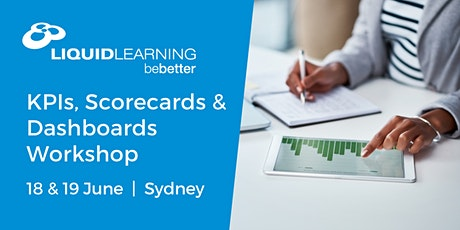 KPIs, Scorecards & Dashboards Workshop Sydney tickets