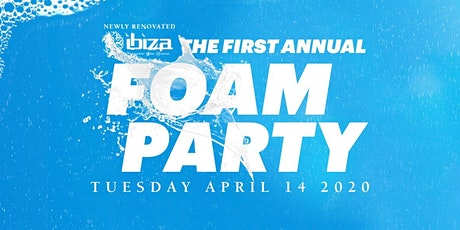FOAM PARTY tickets