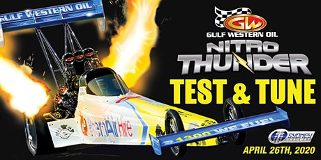 Gulf Western Oil Nitro Thunder - TEST N TUNE 26 April 2020 tickets