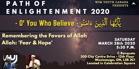 Annual Path of Enlightenment 2020 - O' You who Believe tickets
