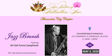 Alexandria City Chapter of Top Ladies of Distinction, Inc.  Jazz Brunch tickets