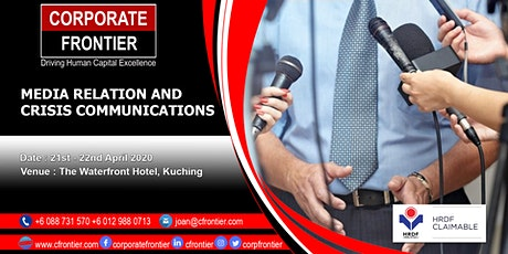 Media Relation and Crisis Communications tickets