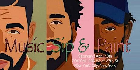 Hip Hop, Sip & Paint tickets
