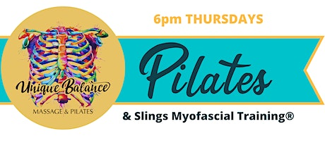 CLASS CANCELLED - Pilates & Slings - 6pm Thursdays tickets