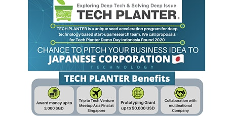 TECH PLANTER in INDONESIA tickets