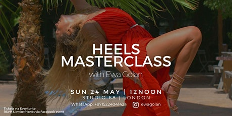 Heels MasterClass with Ewa Golan tickets