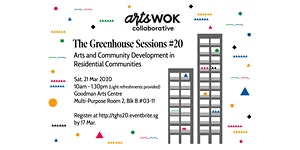 [POSTPONED] The Greenhouse Sessions #20: Arts and...