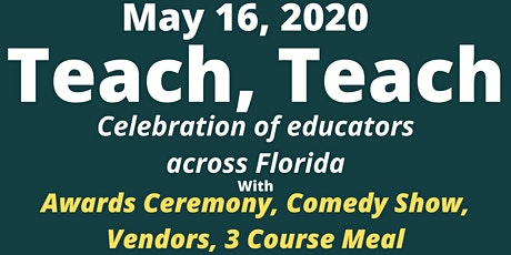 Teach, Teach - Educators Awards Ceremony tickets
