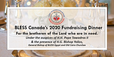 BLESS Canada Fundraising Dinner tickets