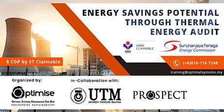 Energy Savings Potential through Thermal Energy Audit: Introductory Level tickets