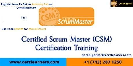 CSM Certification Training in Houston, TX,USA tickets