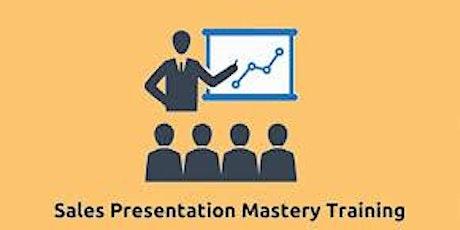 Sales Presentation Mastery 2 Days Training in Redmond, WA tickets