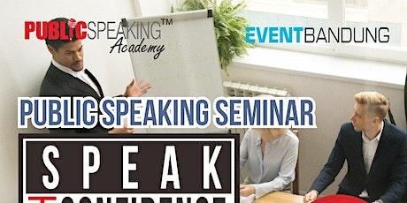 [Seminar Murah]Berbicara dengan Percaya Diri - Seminar Public Speaking tickets