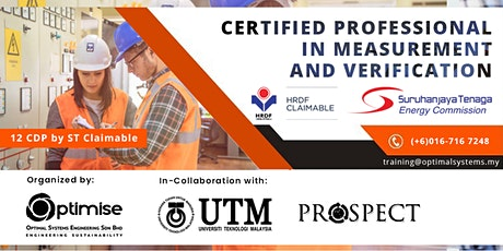 A Three-Day Certified Professional in Measurement and Verification (CPMV) tickets