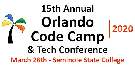 Orlando Codecamp & Tech Conference 2020 tickets