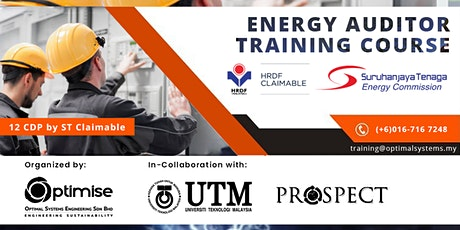 A Three-Day Energy Auditor Training Course (EATC) tickets