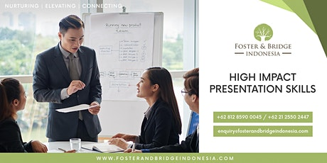 High Impact Presentation Skills tickets