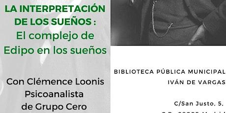 CONFERENCIA GRATUITA SOBRE  LA INTERPRETACIÓN DE LOS SUEÑOS tickets