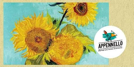 Roma Centocelle: Girasoli e Van Gogh, un aperitivo Appennello biglietti