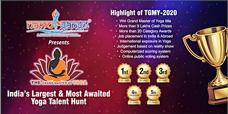 The Grand Master of Yoga 2020 tickets