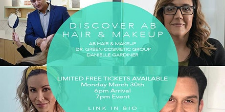Discover AB Hair & Makeup -A Q&A  Night - Hair, Makeup, Lashes, Injectables tickets