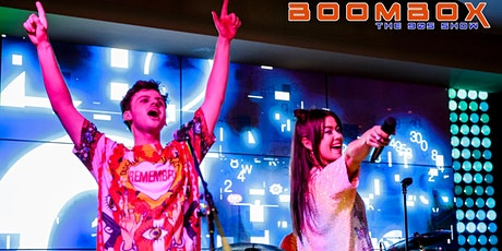 BOOMBOX the 90's Show LIVE and FREE at Crown Casino Melbourne  tickets