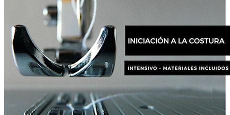 INICIACIÓN A LA COSTURA. Taller intensivo. tickets