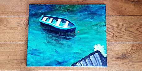 Paint by Wine - Fishing Boat tickets