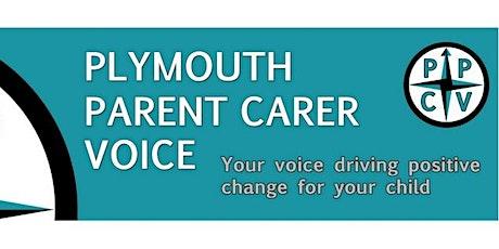 PPCV Parent Carer S.E.N.D Conference 13.05.20 - stand / speaker / 1:1 / helper link tickets