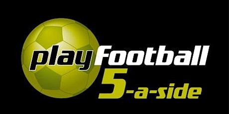 5 - a side Football tickets
