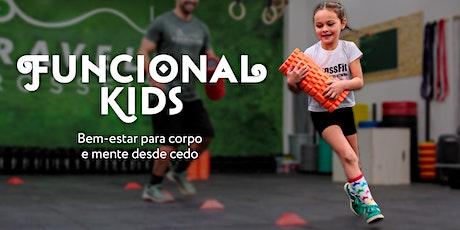 Aula Experimental | Funcional KIDS bilhetes