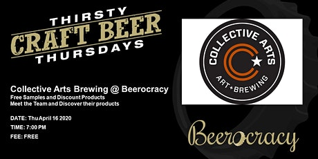 Thirsty Thursday with Collective Arts Brewery tickets