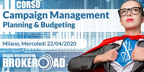 Corso Campaign Planning & Management tickets