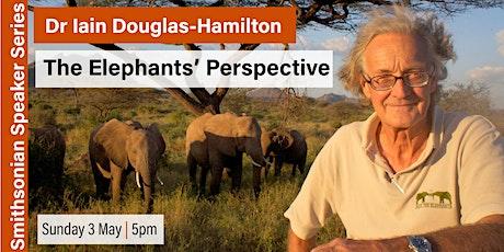 The Elephants' Perspective - by Dr Iain Douglas-Hamilton - Talk & Reception tickets