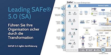 Leading SAFe® mit SAFe Agilist-Zertifizierung Tickets