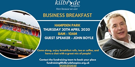 Kilbryde Hospice Business Breakfast tickets