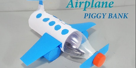 Airplane Piggy Bank @ Leytonstone Library tickets