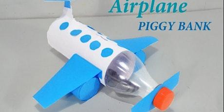 Airplane Piggy Bank @ Lea Bridge Library tickets