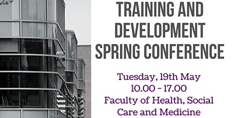 EHUMS Training & Development Spring Conference tickets
