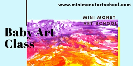 MINI MONET: Mummy + Me Baby Art Class - Monday's tickets