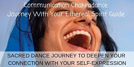 Throat Chakradance - The key to your expression and communication  tickets