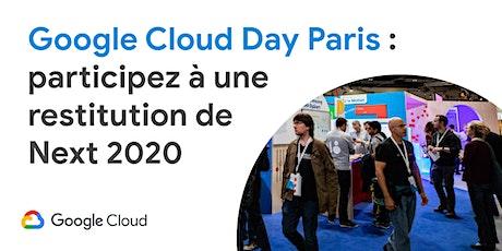 Google Cloud Day Paris billets