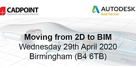 Moving from 2D to BIM 29th April'20 tickets
