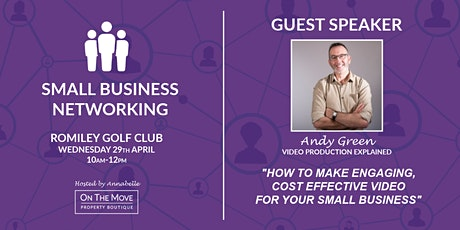 SMALL BUSINESS NETWORKING | ROMILEY  tickets