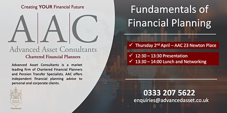 The Fundamentals of Financial Planning tickets