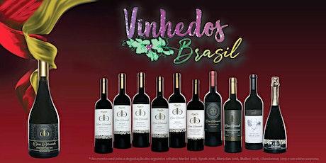 Degustação Harmonizada Vinhedos Brasil ingressos