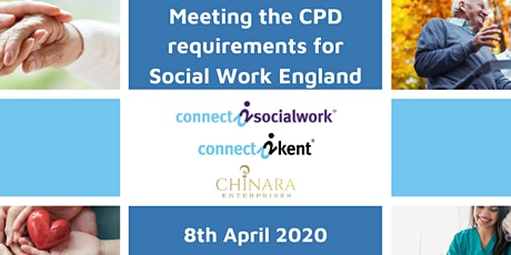 Meeting the CPD requirements for Social Work England tickets