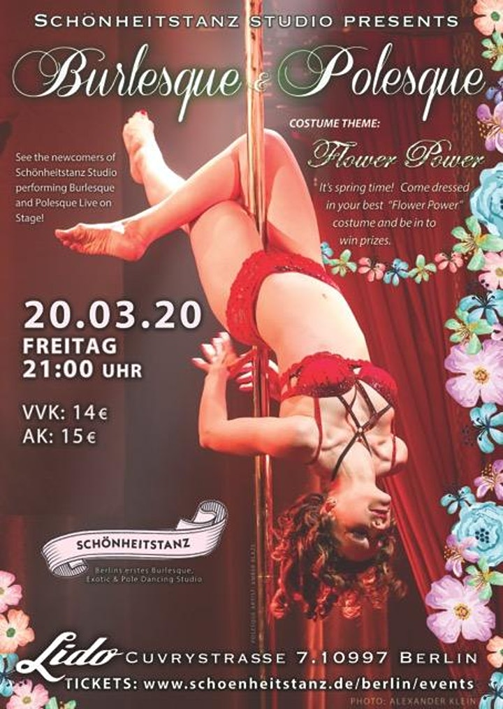 A Night of live Burlesque & Polesque No 15: Bild