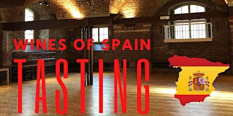 Wines of Spain Tasting tickets
