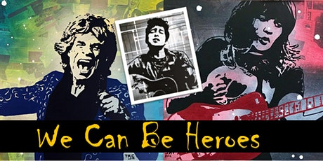Art Exhibition: We Can Be Heroes - Artist Tessa Cavaggion tickets